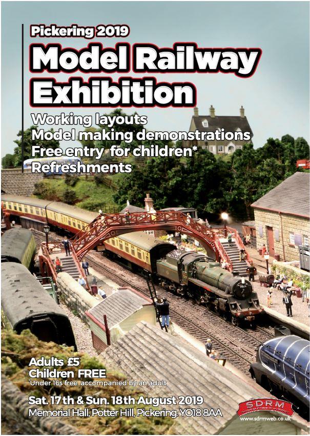 Model Rail Exhibition – Pickering Memorial Hall